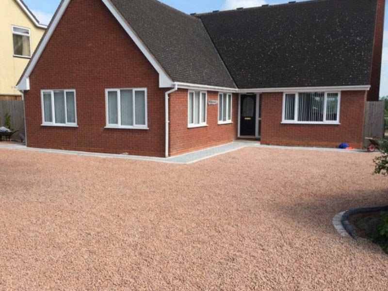 gravel driveways Redditch Worcestershire